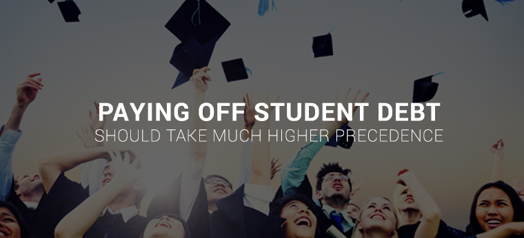Paying student debt