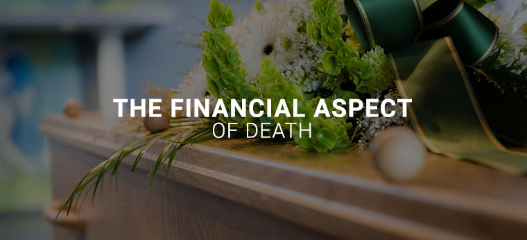 the financial aspect of death