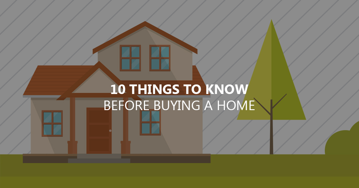 things to know when buying a house