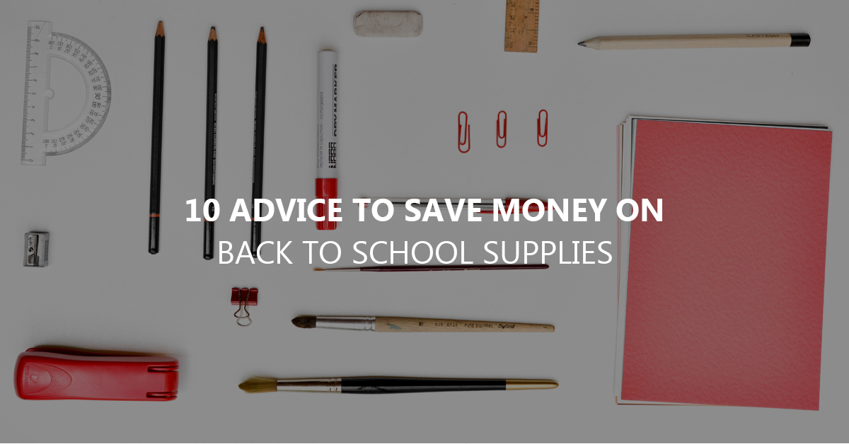 back to school budget
