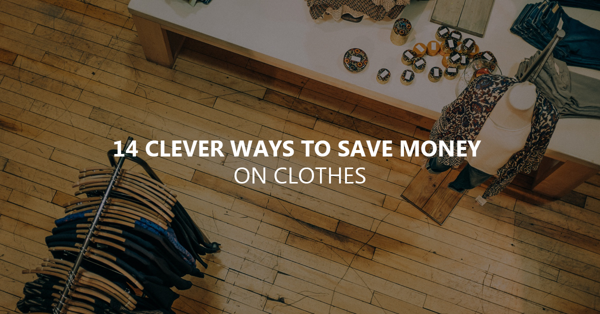 how to save on clothes