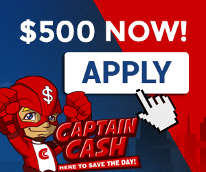 captaincash cash loans - apply now