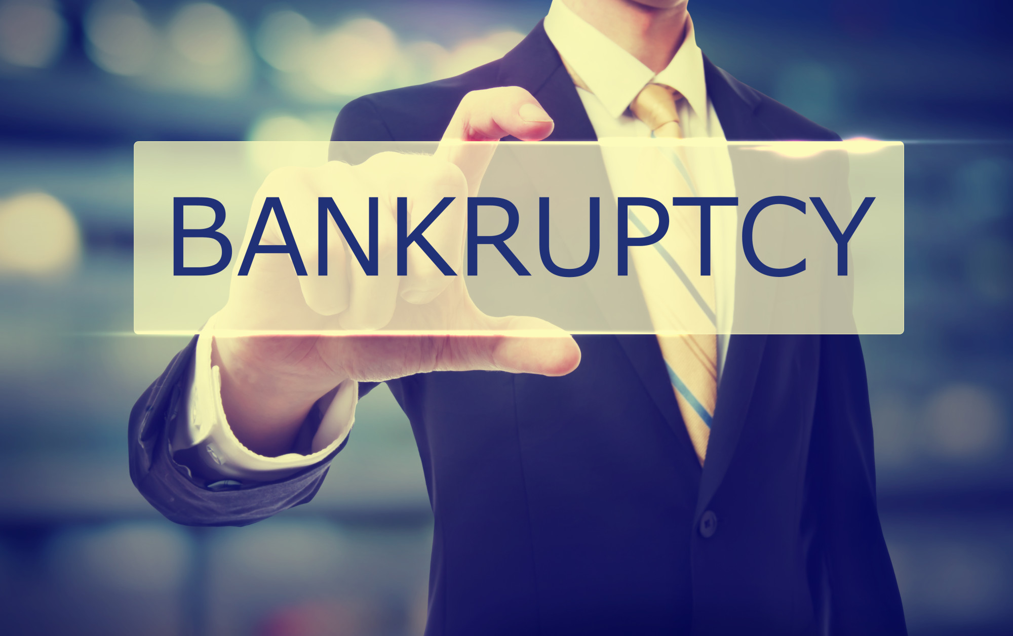 how does bankruptcy affect your credit